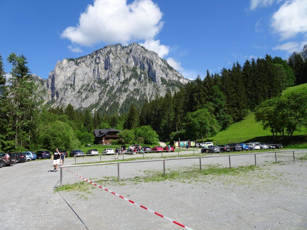 At the parking Grüner See