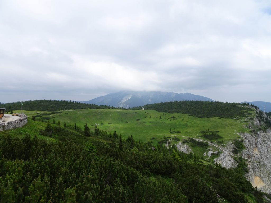 """View from """"Vilma-Haid"""" viewpoint (few meters behind Ottohaus)"""
