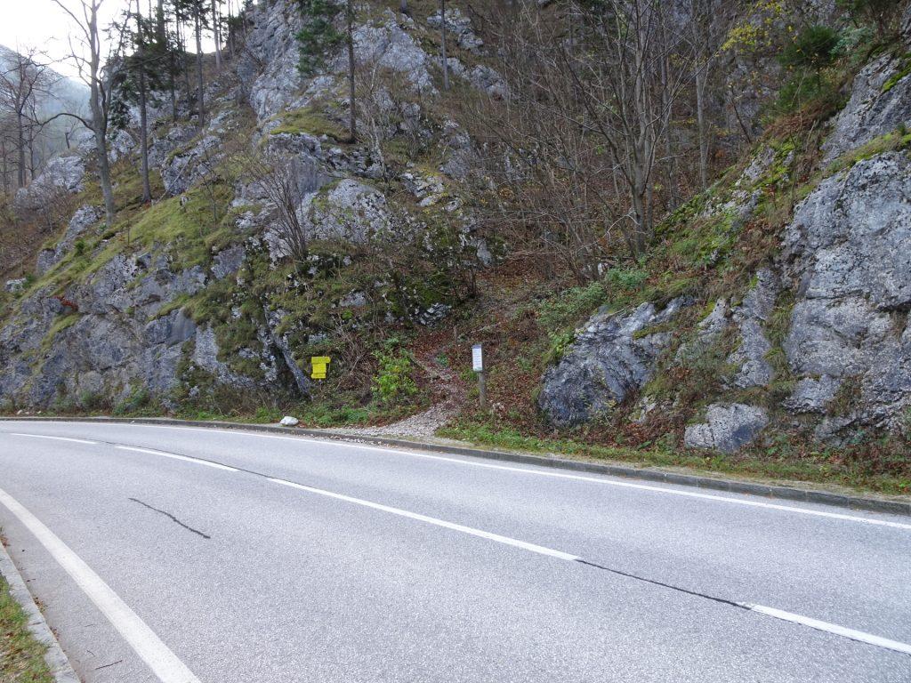Starting point (Parking Höllental)