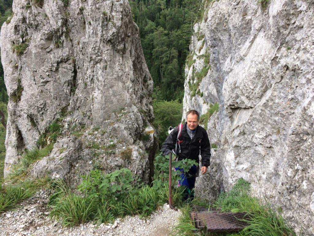 Herbert at the end of Schönbrunnerstiege