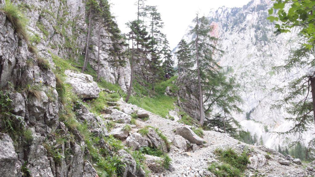 The Teufelsbadstubensteig trail