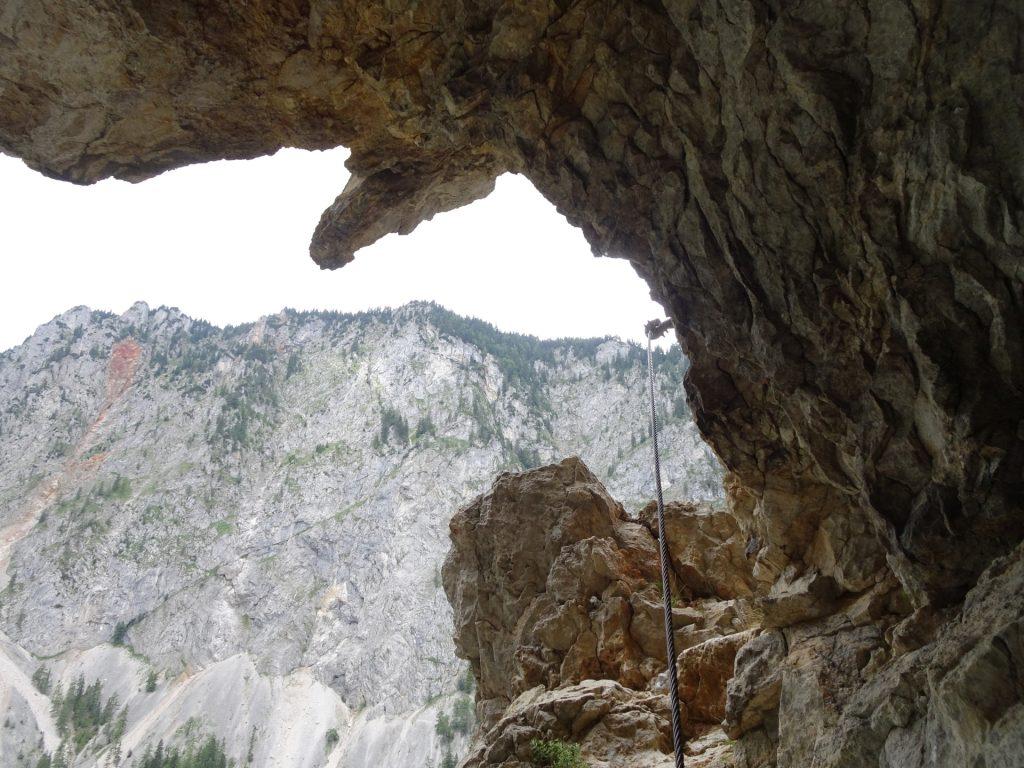 Inside the Teufelsbadstube