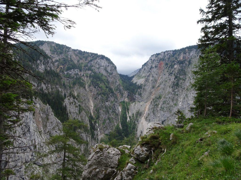 View into the Höllental