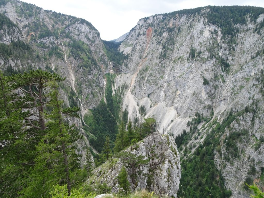 View to the Höllental
