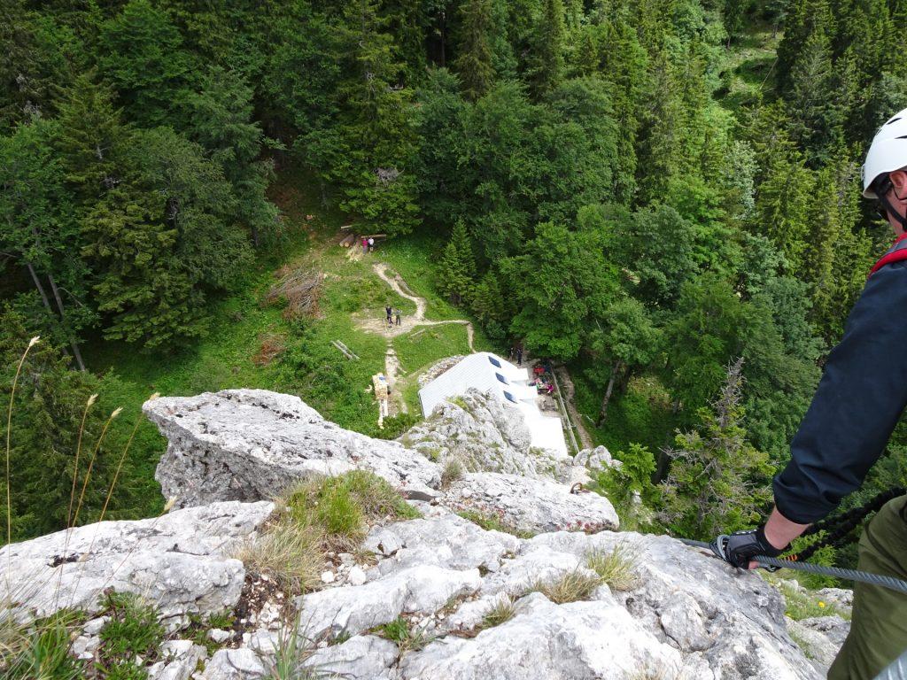 View to the Kienthalerhütte from Turmstein
