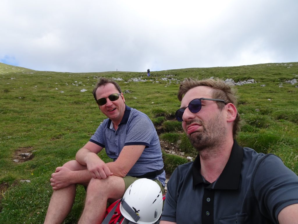 Stefan and Hannes require a short break