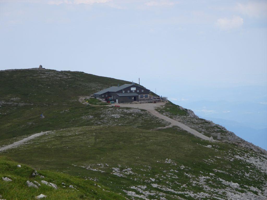 The Fischerhütte is in sight