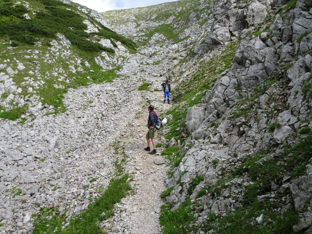 Descending via Wurzengraben
