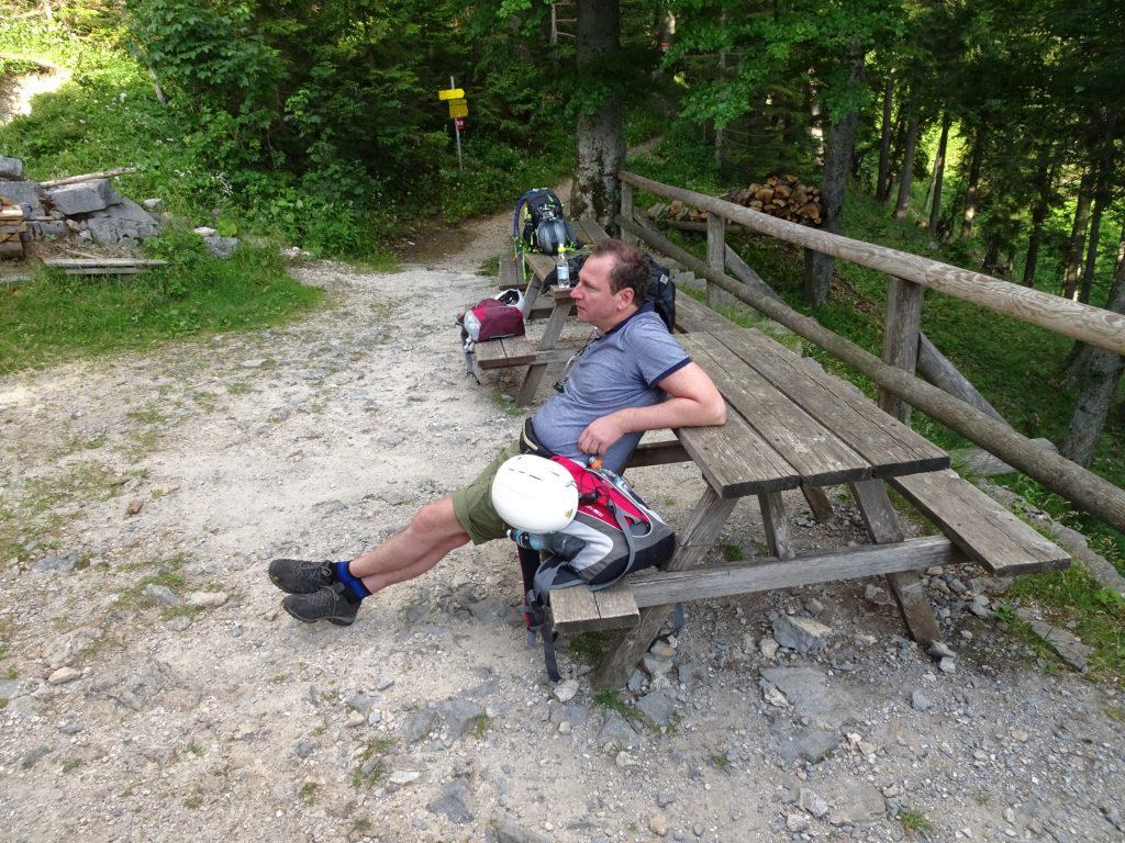 A short break at the Kienthalerhütte