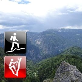 "Hiking & Via Ferrata: ""Schneeberg via Weichtalklamm (A/B) & Turmstein (C)"""