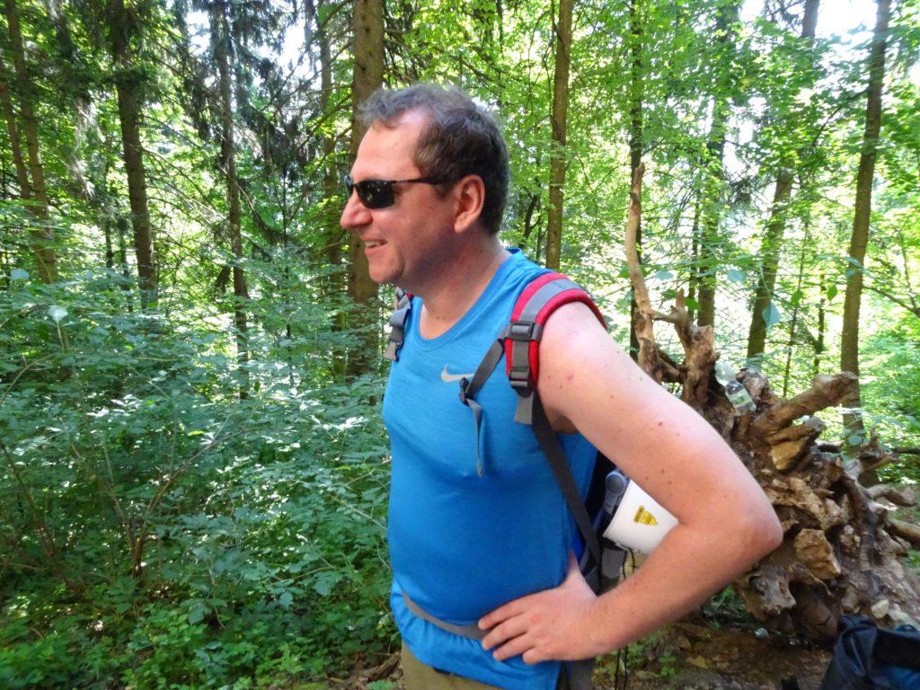 Hannes gets first impressions of the Währingersteig
