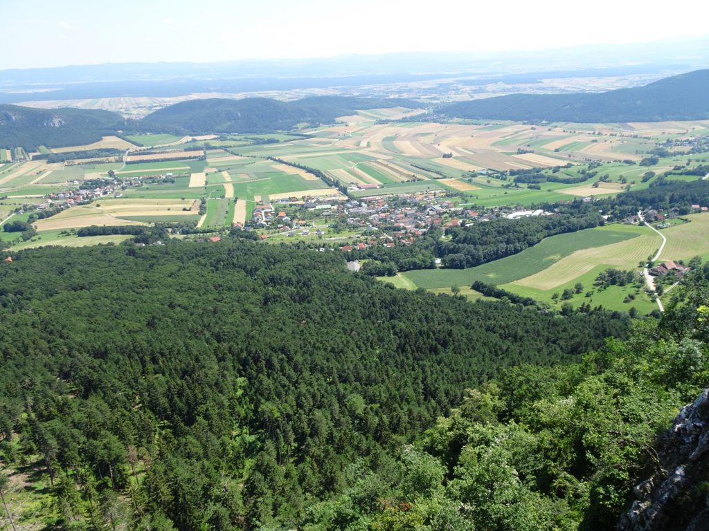 View from Felsenpfad