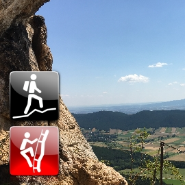 "Via Ferrata: ""Hohe Wand 6-Steige Tour (C)"""