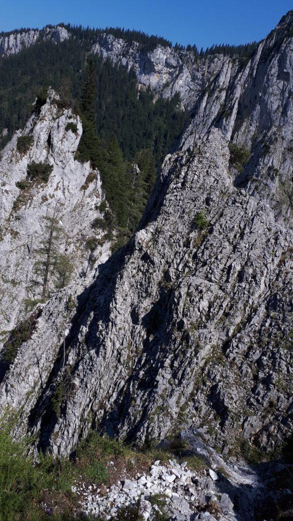 View from the via ferrata