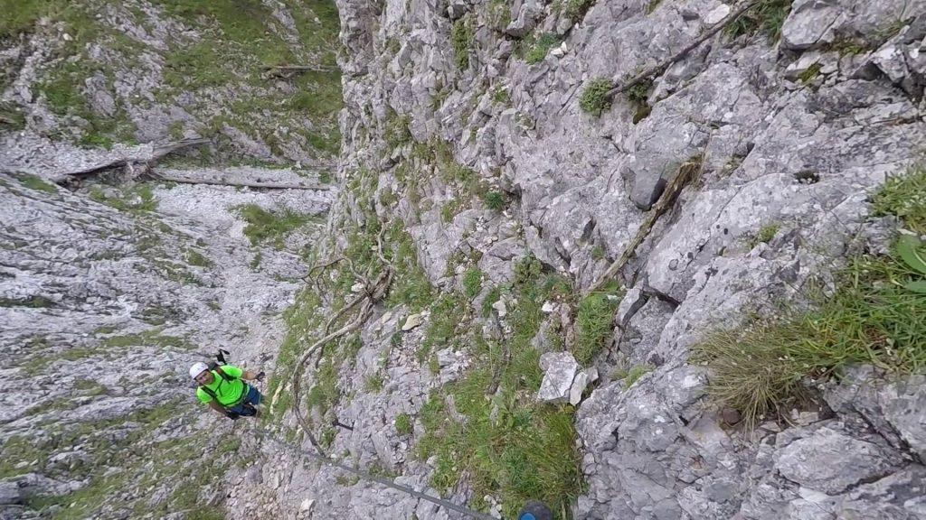 After descending, ascend again!