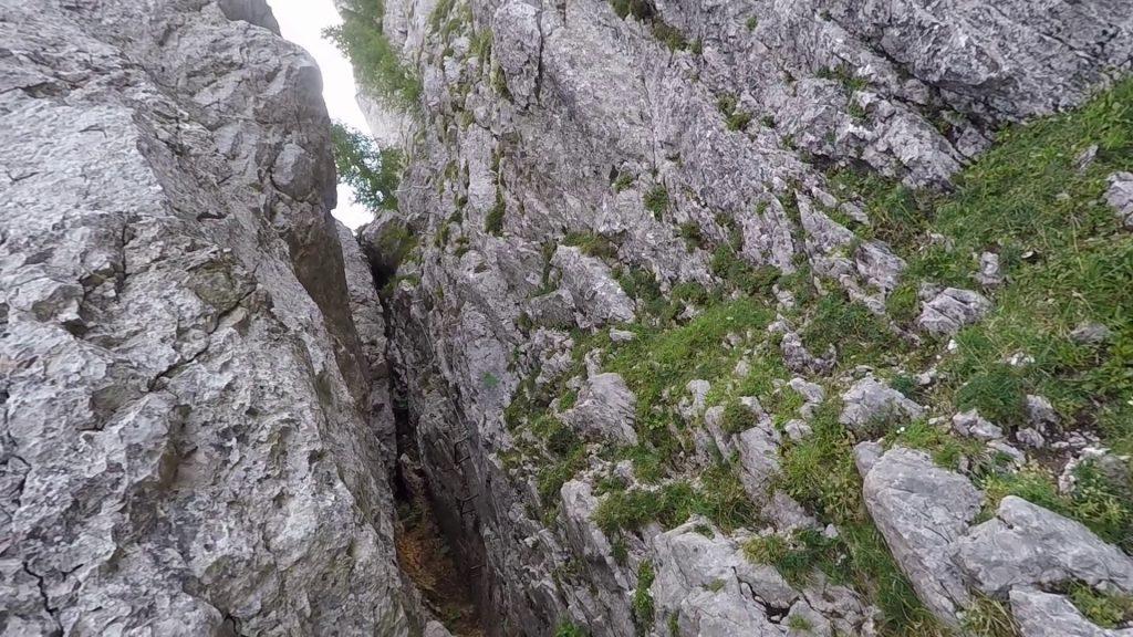 The imposant Bärenloch