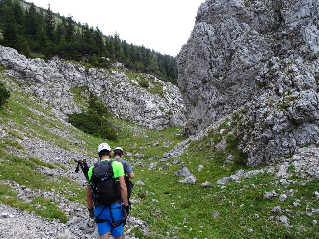 Easy hiking tour towards Habsburghaus