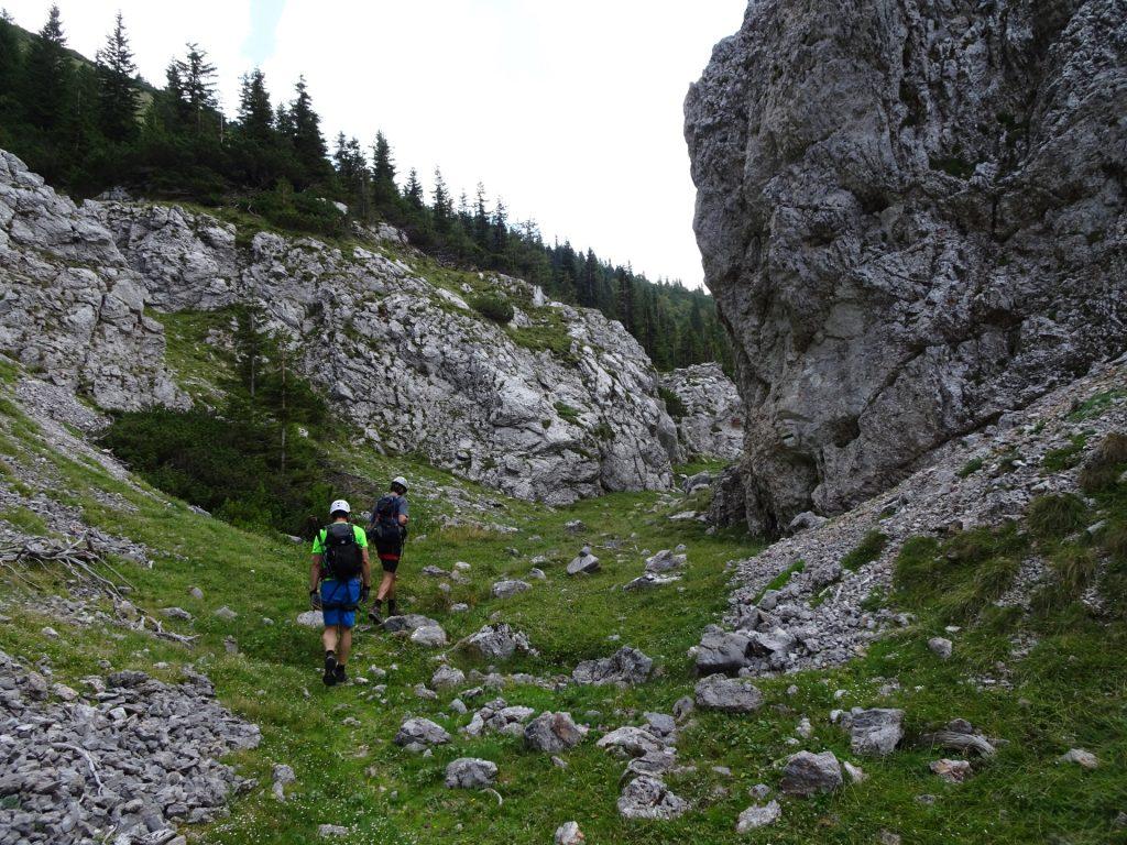 The trail towards Habsburghaus
