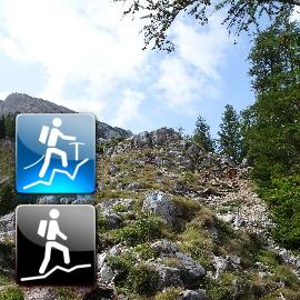 """Easy Alpine Tour: """"Schneeberg via Nandlgrat (I) and descending via Fadensteig (A/I-)"""""""