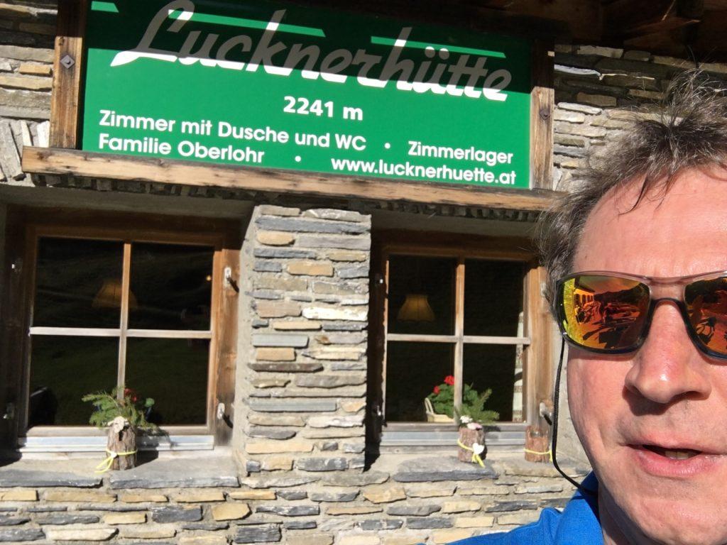 At the Lucknerhütte