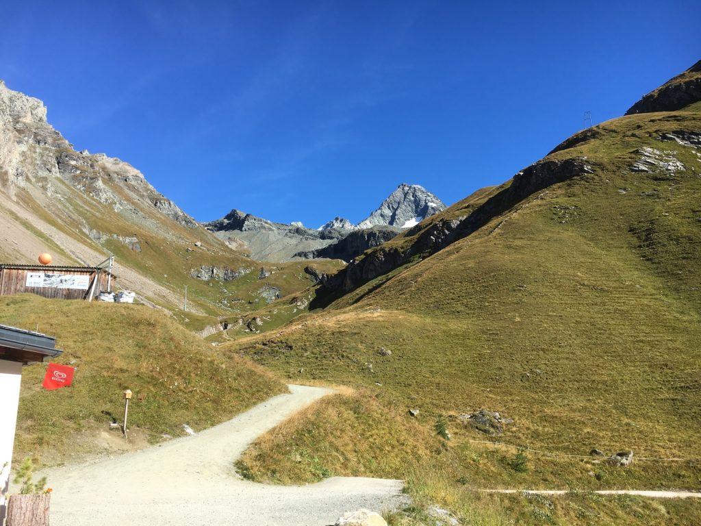 Trail towards Stüdlhütte