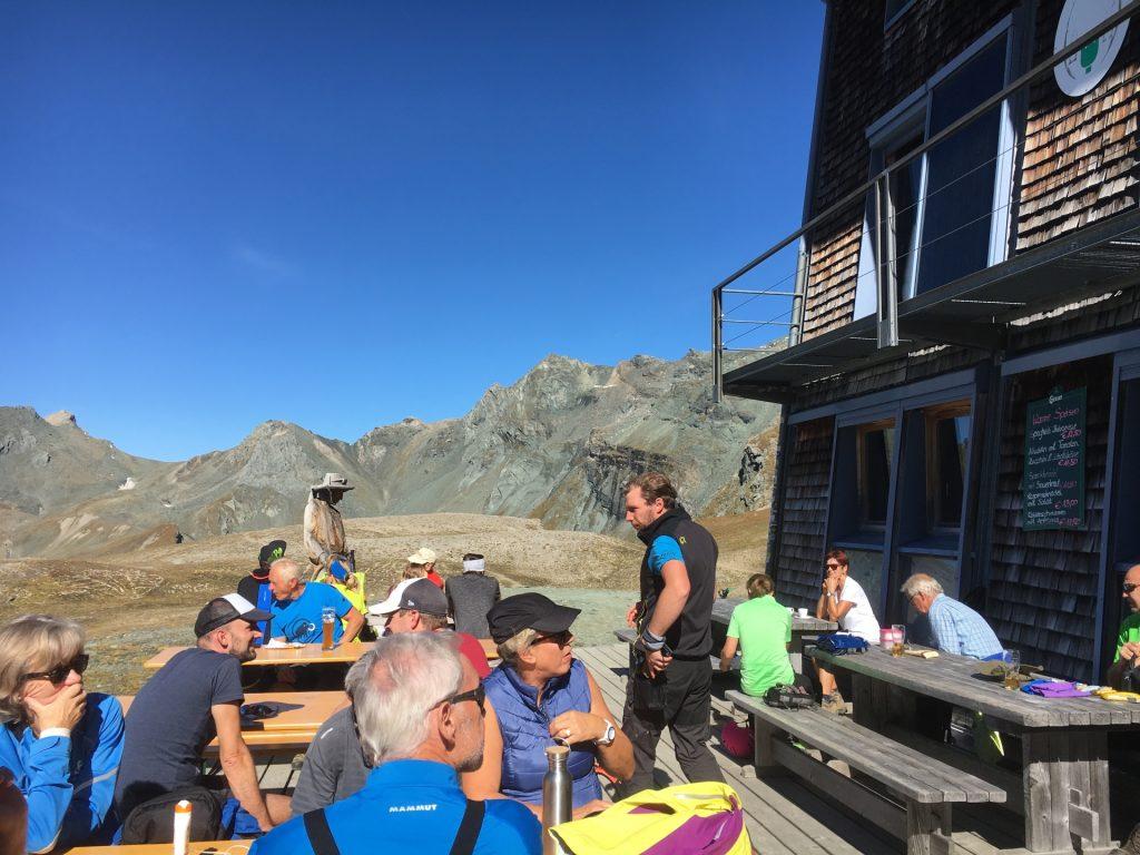 Lunch at the Stüdlhütte