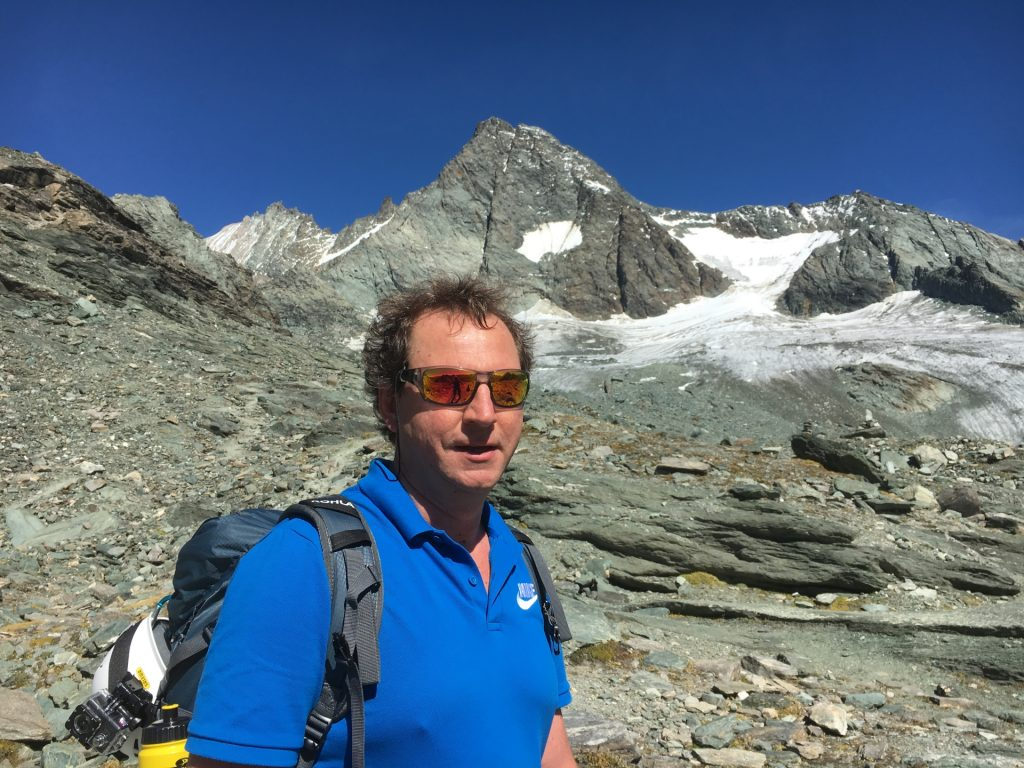 Hannes and the Glockner