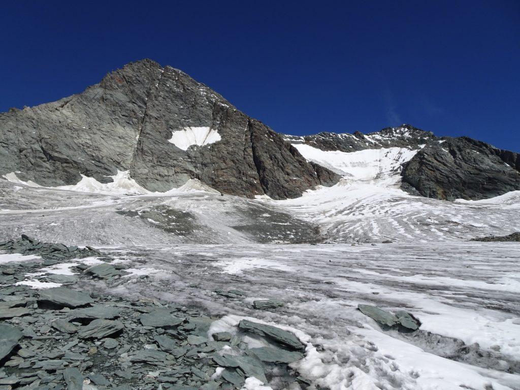 Entering the Glacier