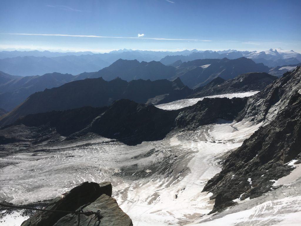 View from the Erzherzog-Johann-Hütte