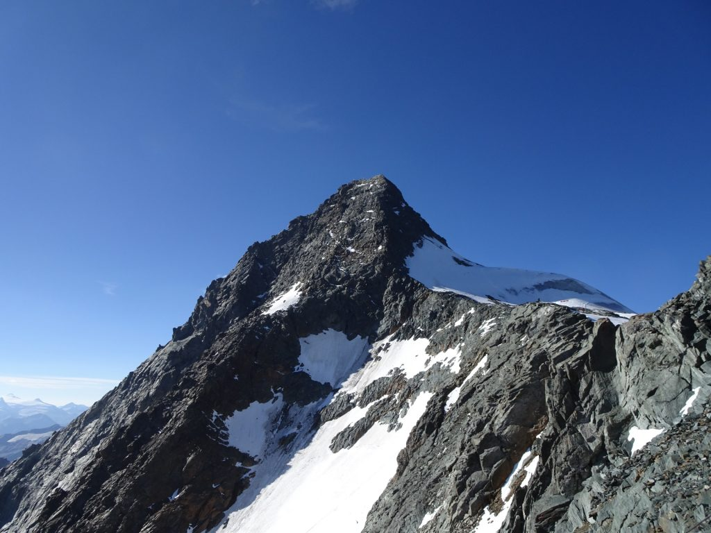 The Glockner without clouds