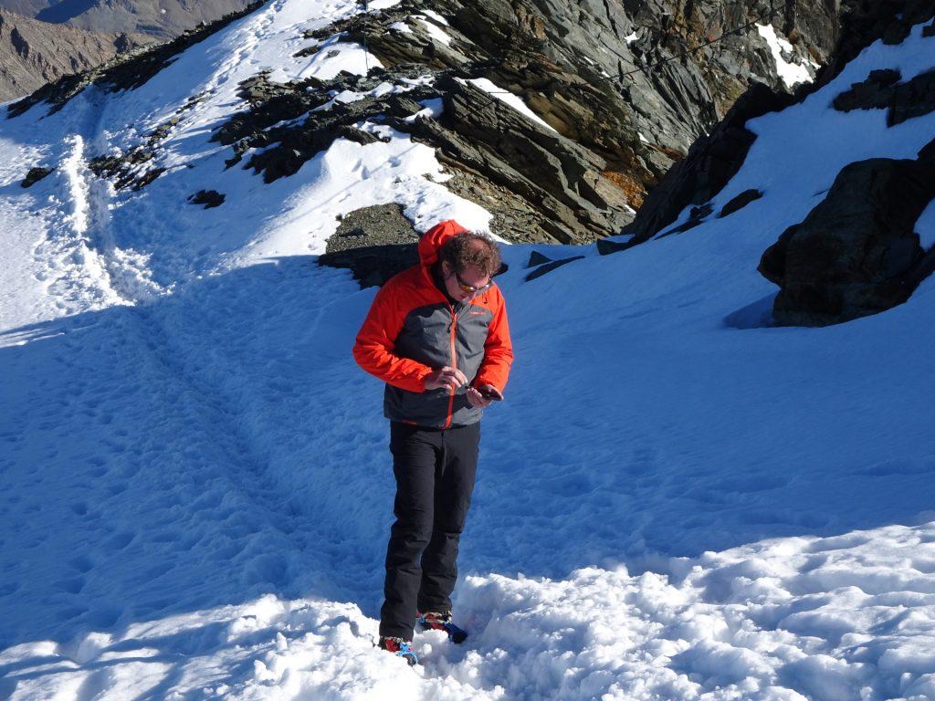 Hannes on the Adlersruhe