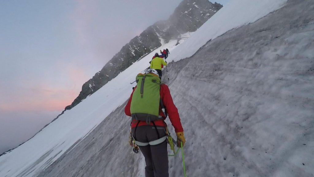 On the steep Eisleitl