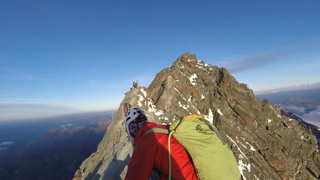 On the ridge towards Großglockner