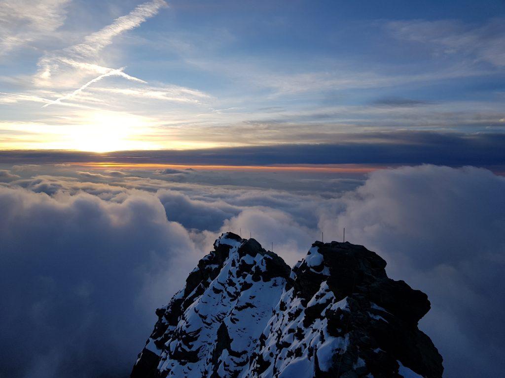Sunrise over Kleinglockner