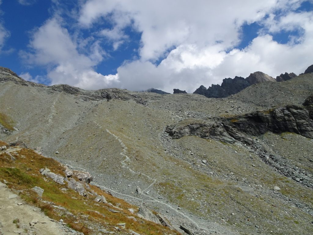 The Glockner is not visible anymore