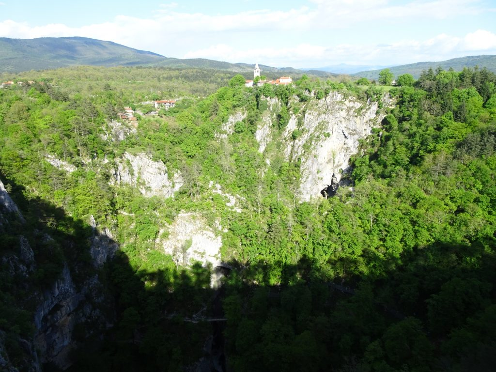 "Viewpoint ""Skocjan caves"""