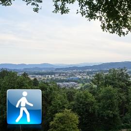 """Walking Tour: """"Ljubljana Tivoli Park"""""""