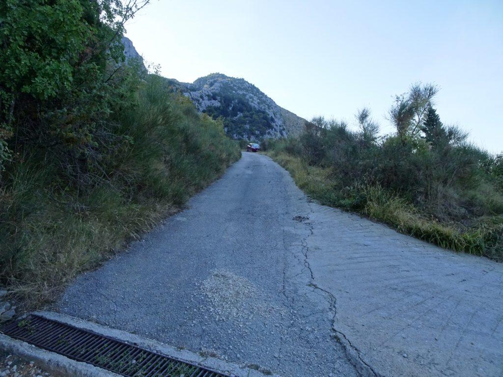 Follow the road upwards