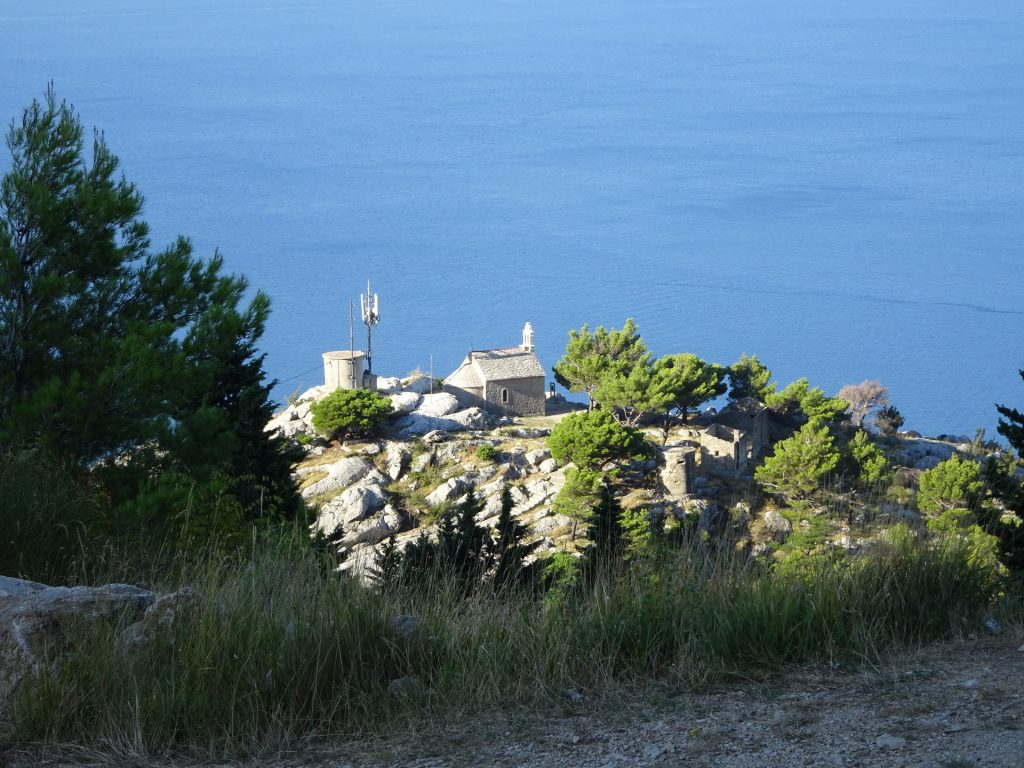 Little church at the seaside
