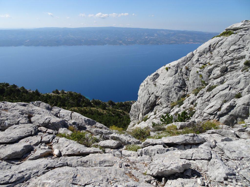 Off-trail towards Srtrazina