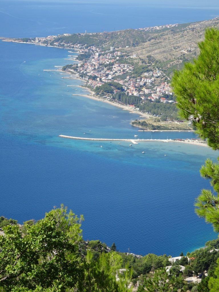 Beach of Omis