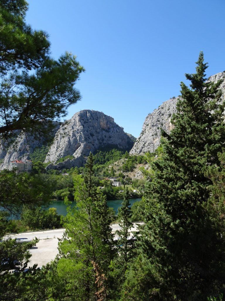 Nice climbing area at Omis