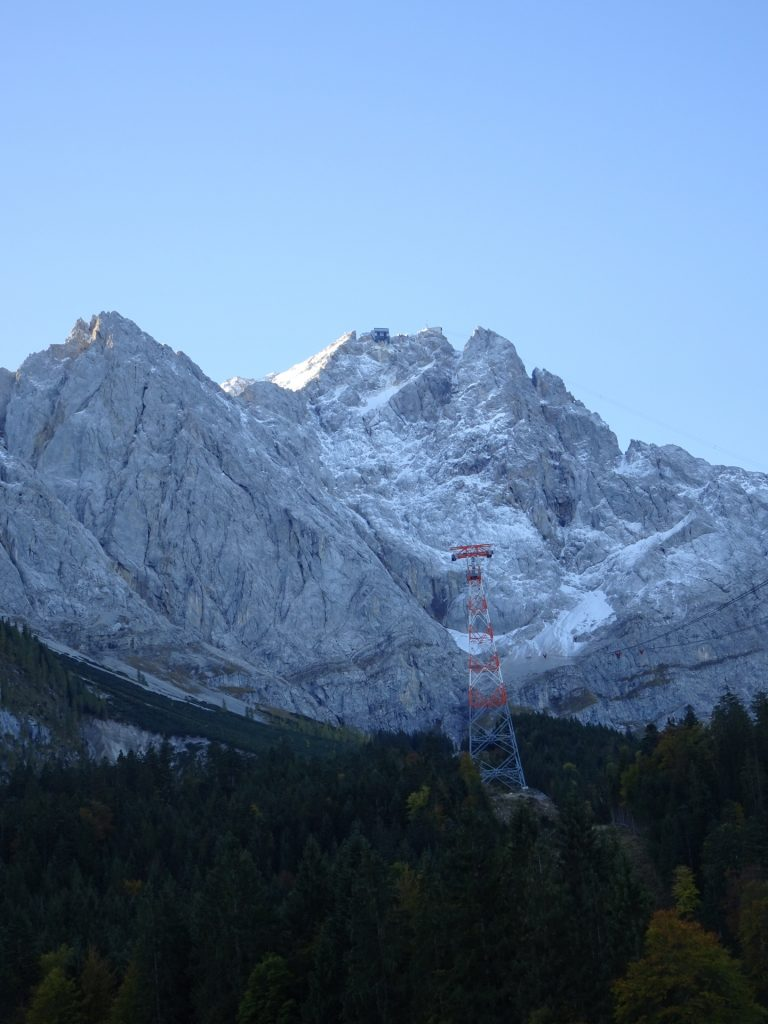 View towards Zugspitze