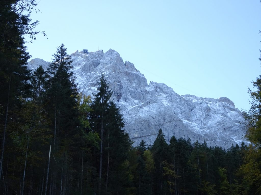 Zugspitze does not come closer :-(
