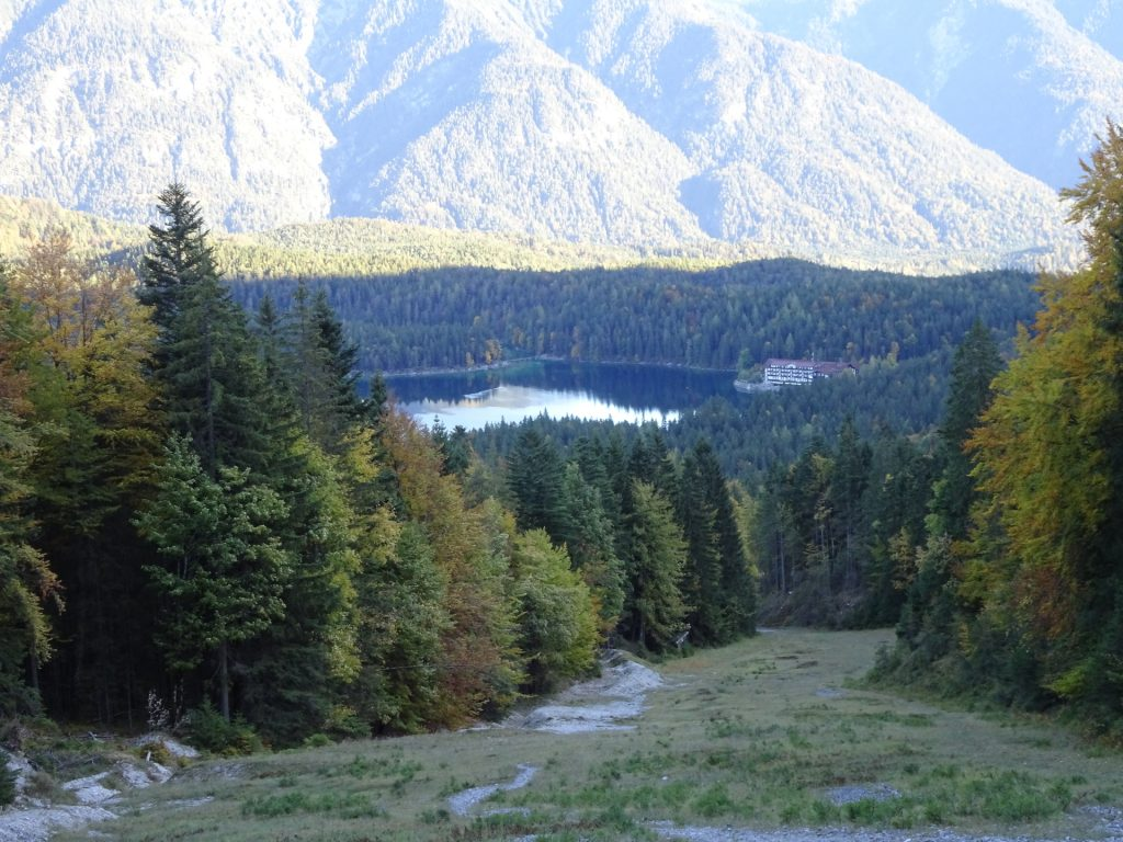 View back to Eibsee