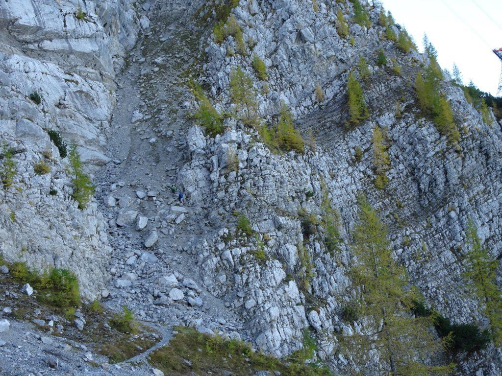 First climbing part
