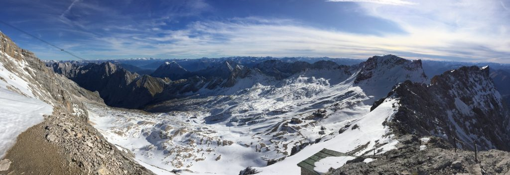 Stunning panoramic view from the top