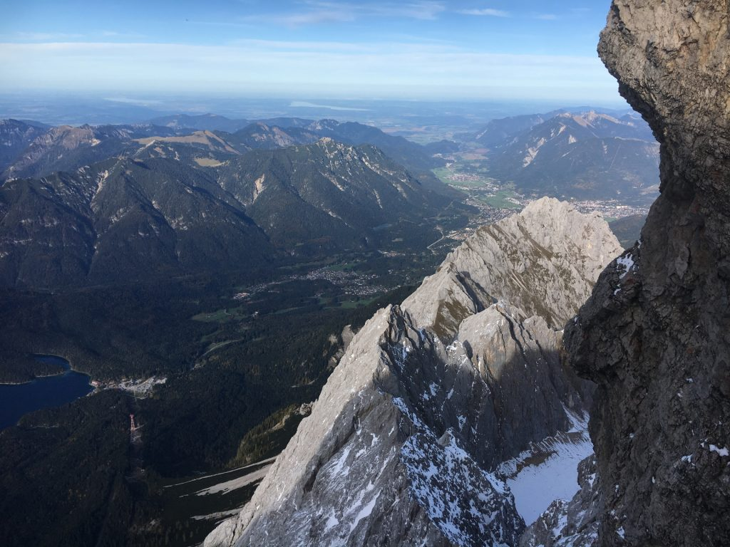 View from the via ferrata