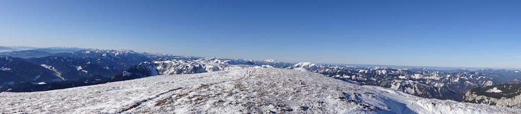Impressive alpine panorama