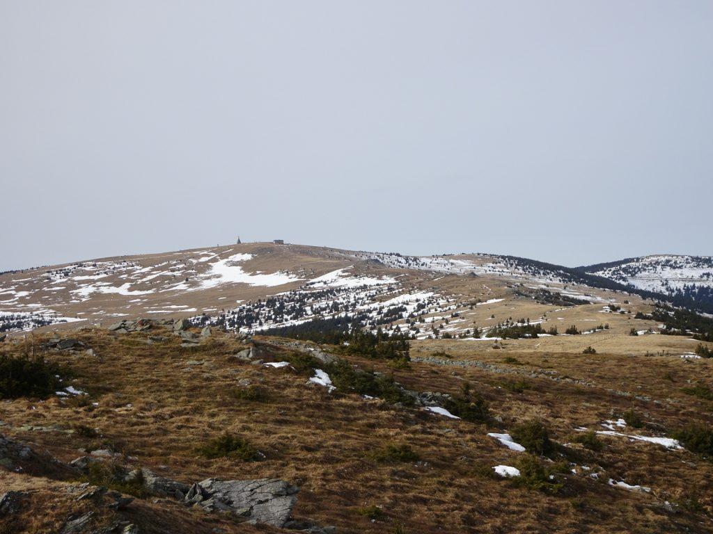 View from Niederwechsel towards Hochwechsel